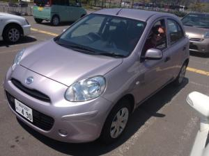 Our pink chariot - Nissan March (we think it was a Micra)