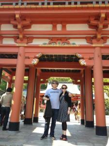 Shrine, Kobe town