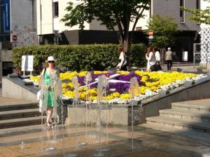 Flower clock, Matsumoto