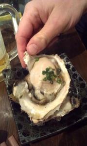 HUGE oyster!